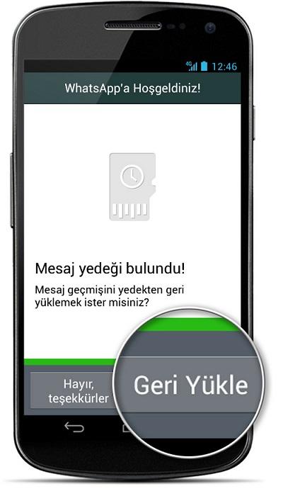 WhatsApp silinen mesajları geri getirme nasıl yapılır?