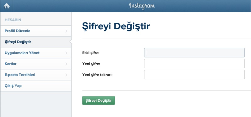instagram-sifre-degistir