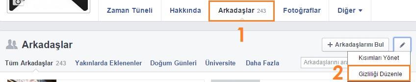 facebook-arkadaslar-gizliligi-duzenle