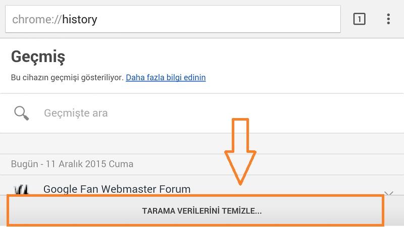 google_chrome_tarama-verilerini_temizle