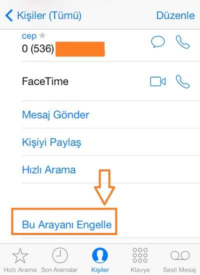iphone-bu-arayani-engelle