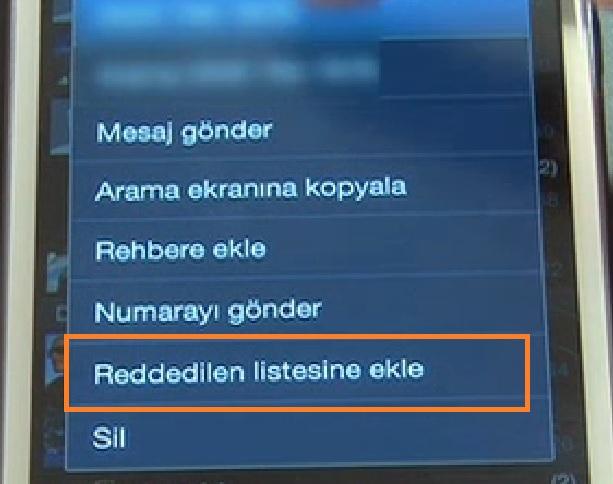 Samsung Galaxy S7'de ve Samsung Galaxy S7 Edge'de Numara Engelleme Nasıl Yapılır? (Resimli Anlatım)