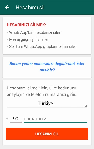 whatsapp-hesabimi-sil