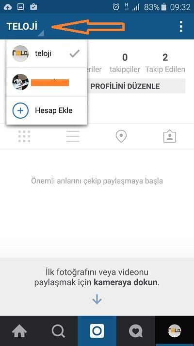 instagram-coklu-kullanici