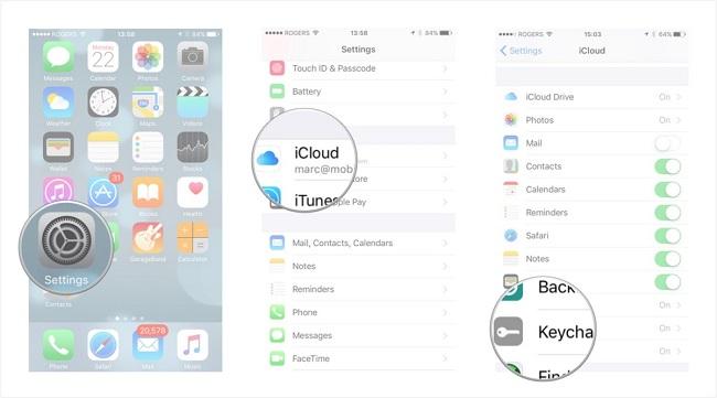 iCloud-anahtar-zinciri-aktiflestirme