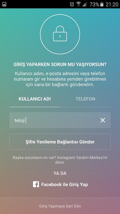 instagram-facebook-ile-giris-yap