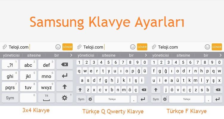 Samsung Klavye Ayarları Detaylı Anlatım Mobil Teknoloji Haberleri