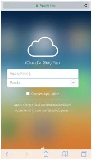 icloud-giris