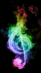 colored-flames-musical-note-android-wallpaper