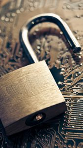 information-security-lock-on-chip-board-android-wallpaper