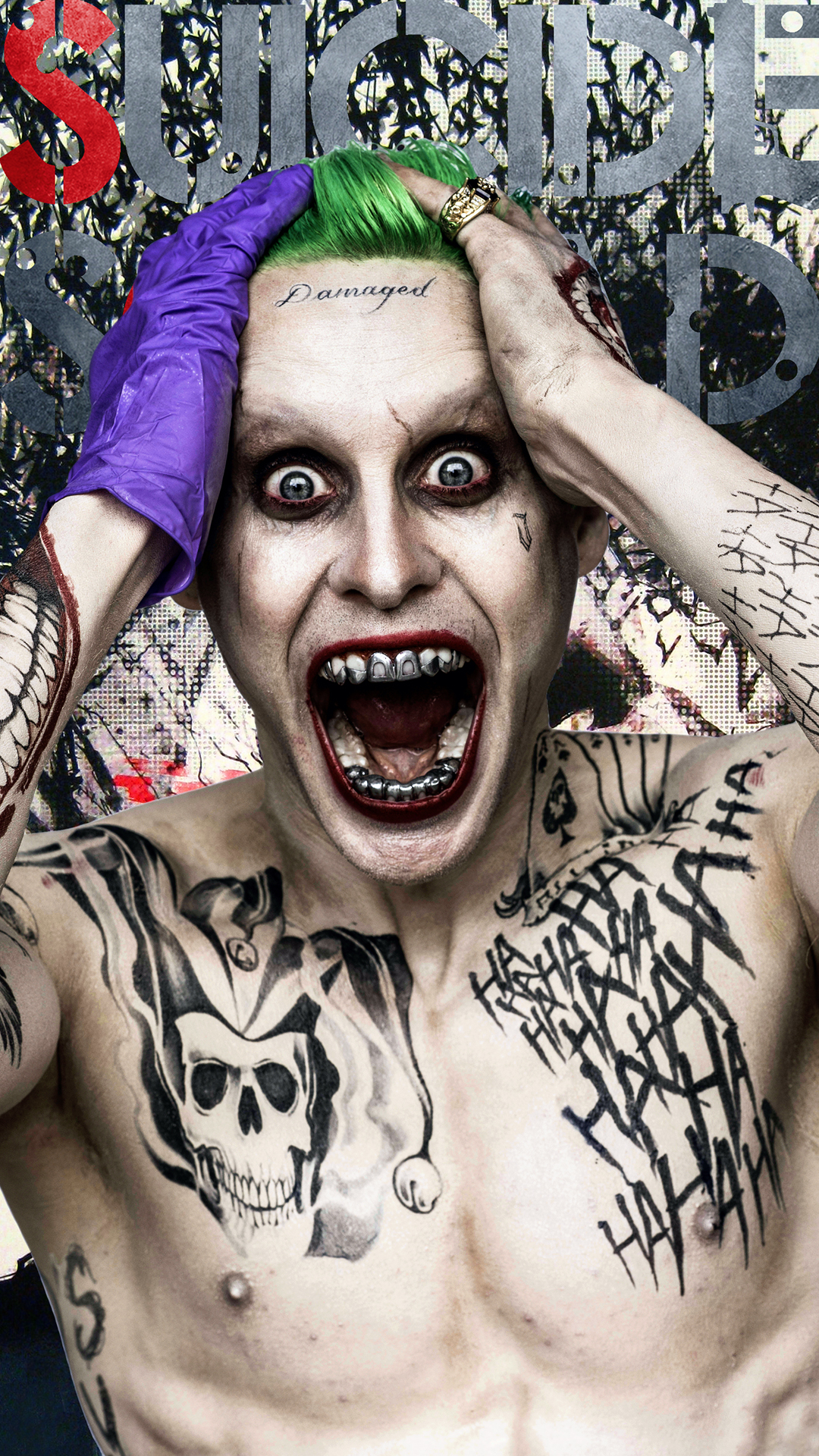 suicide-squad-joker-tattooks-android-wallpaper