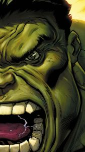 the-hulk-angry-green-face-android-wallpaper