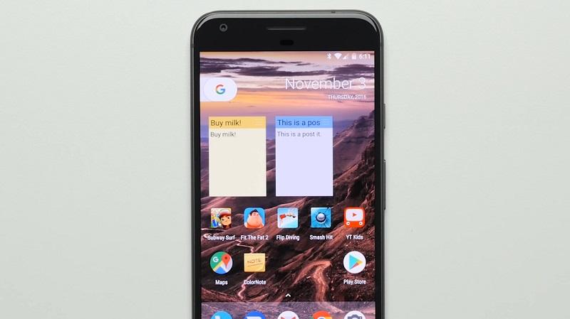 google-pixel-xl-widget