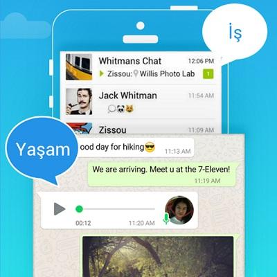 whatsapp cift hesap