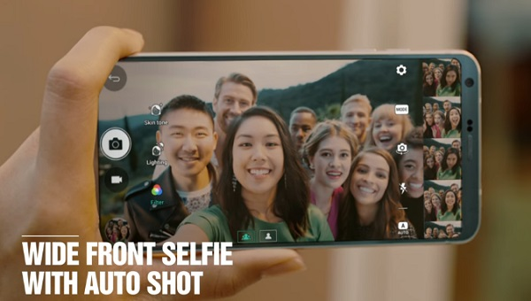lg g6 selfie