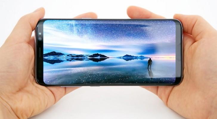 galaxy s8 ekran