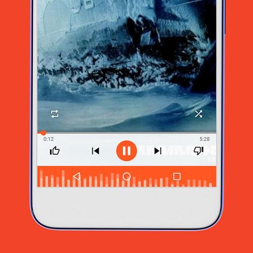 navbar apps muzik