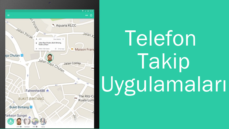 android telefon takip programı ücretsiz