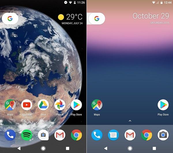 android o android nougat ana ekran