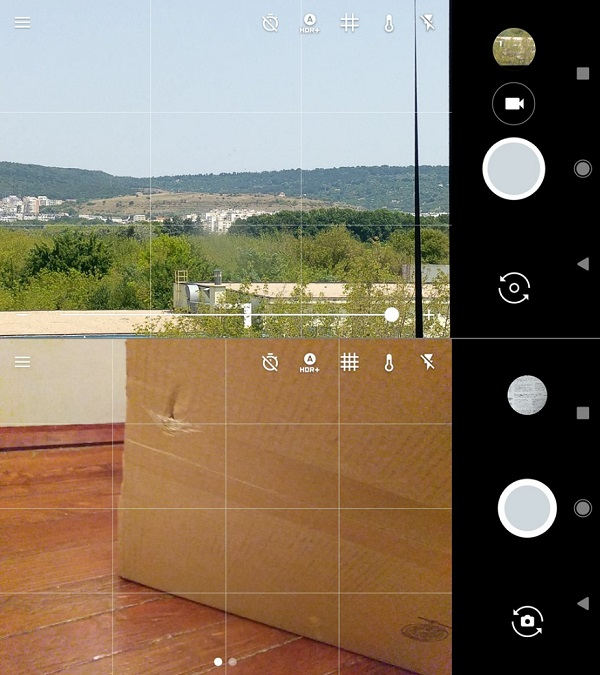android o android nougat kamera