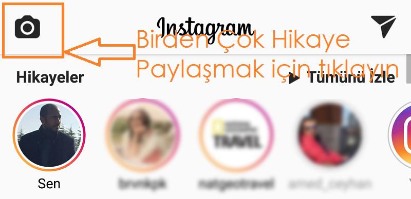 instagram birden cok hikaye paylasma