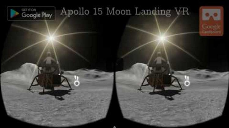 apollo 15 moon landing vr