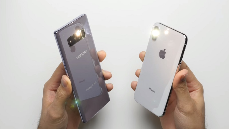 iphone x note8 flas