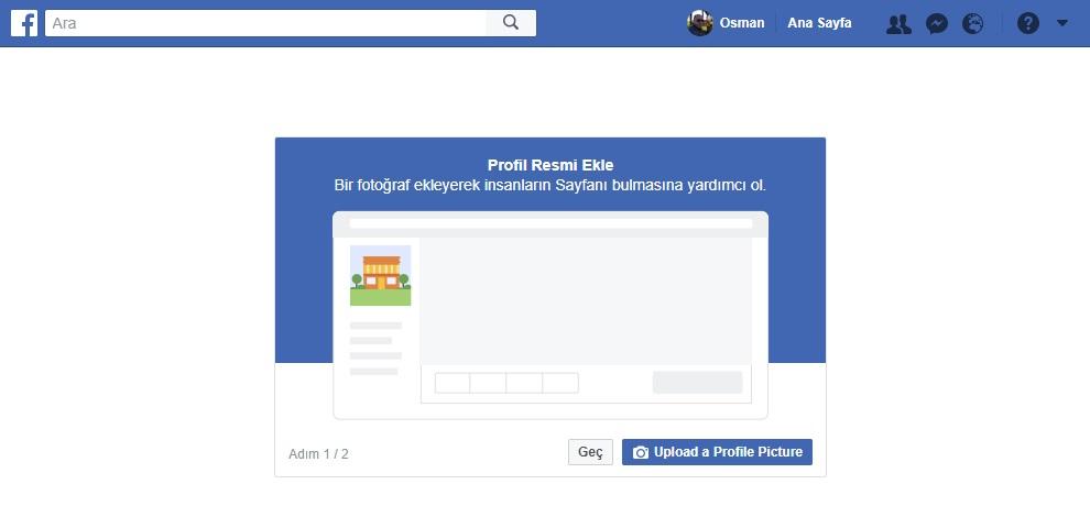 facebook sayfa profil resmi