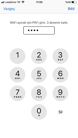 iphone sim kilidi acma