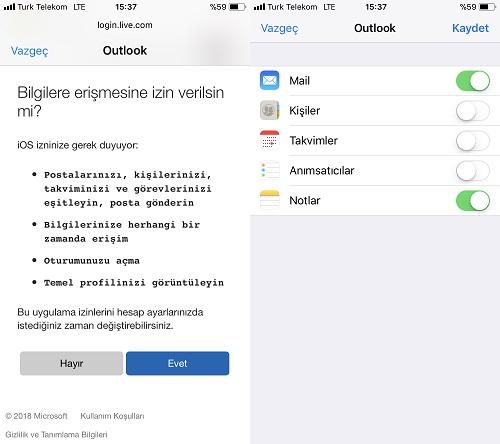iphone hotmail ekleme2