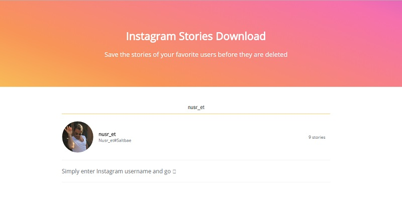 instagram story indirme android
