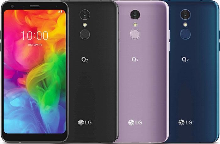 lg q7 colors