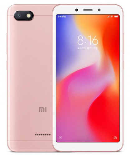 xiaomi redmi 6a rose