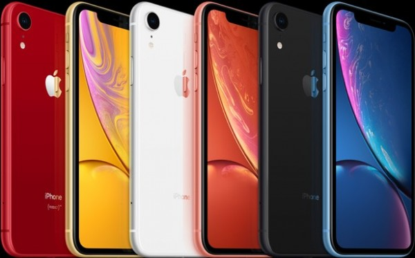 apple iphone xr renkler