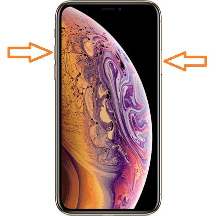 iphone xs ekran goruntusu alma