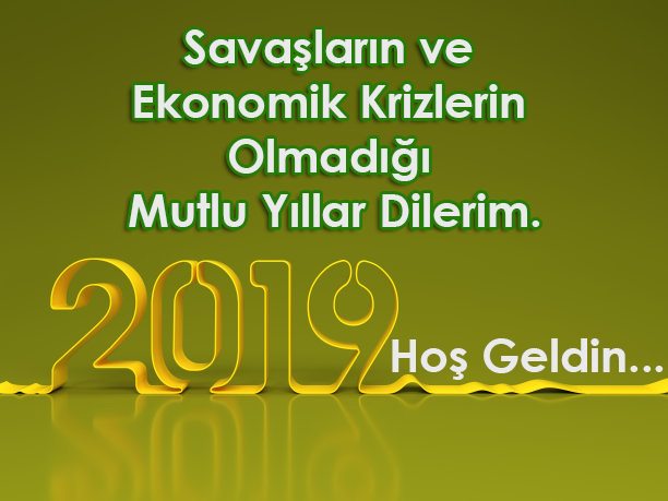 2019 yilbasi mesaji