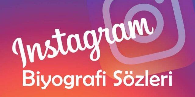 En Güzel Instagram Biyografi Sözleri