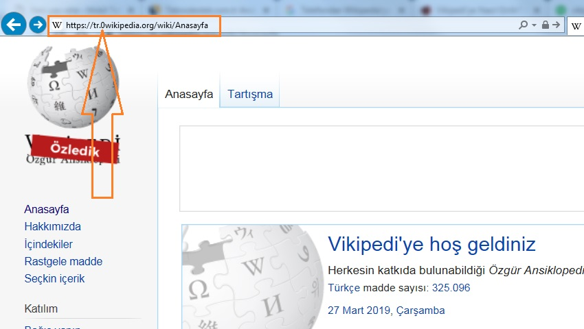 wikipedia 0 yontemi
