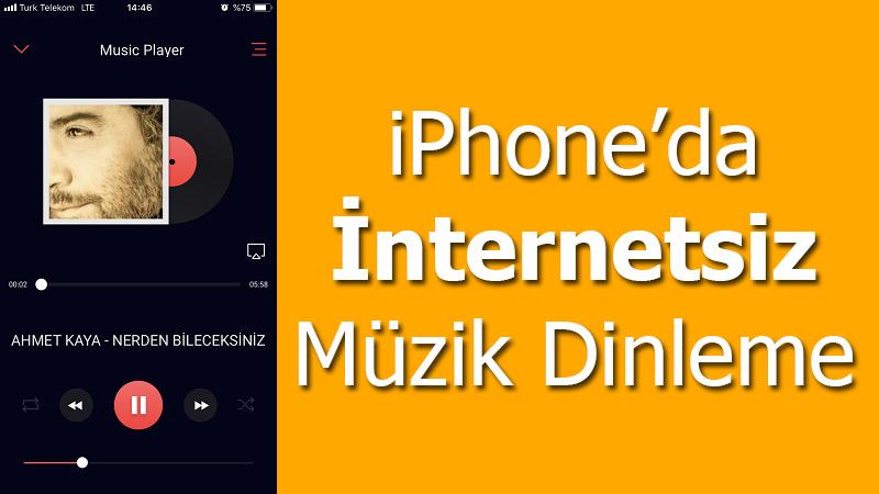 [Çözüldü] İphone da internetsiz müzik dinleme programı?