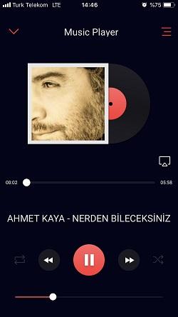 iphone muzik dinleme