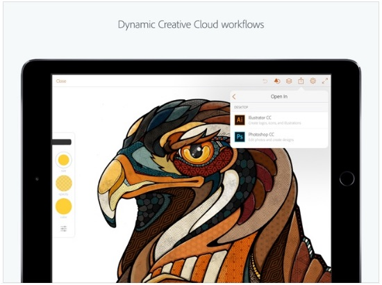 Adobe Illustrator Draw ipad