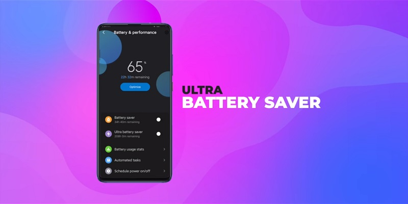 miui 11 ultra batarya tasarrufu