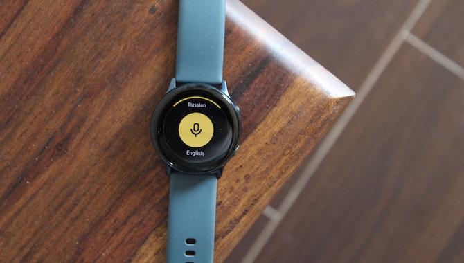 yandex translate galaxy watch
