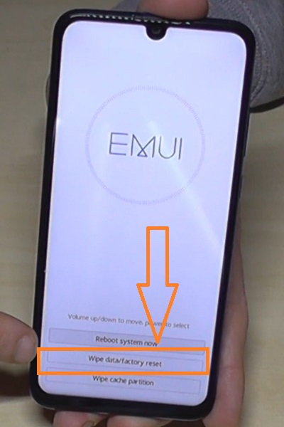 huawei p smart 2019 hard reset