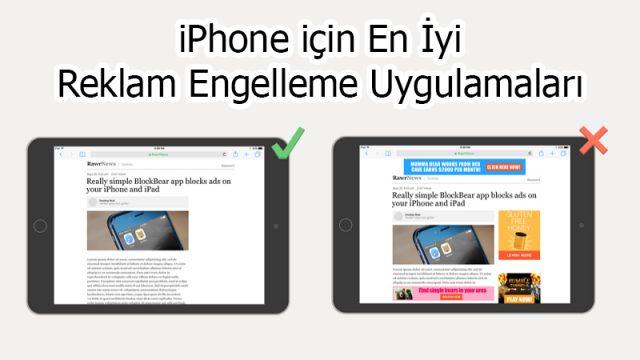 iPhone'da Reklam Engellemek için En İyi 5 Uygulama