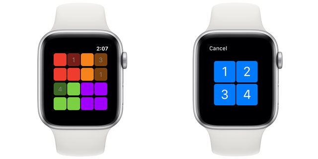 apple watch sudoku