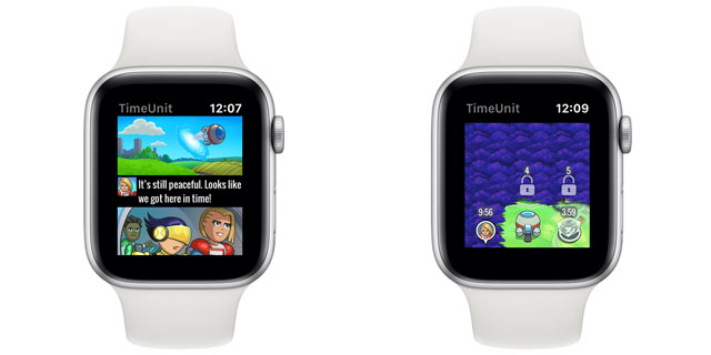 time unit apple watch
