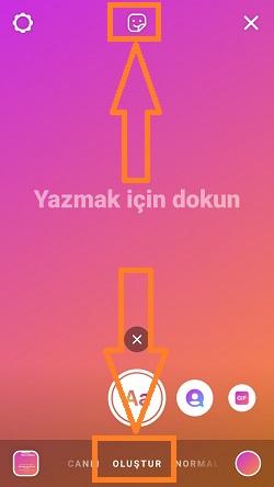 instagram hikaye olustur muzik paylasma