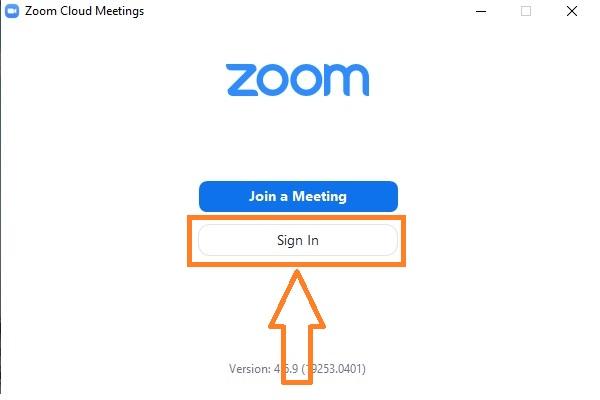 zoom acilis ekrani