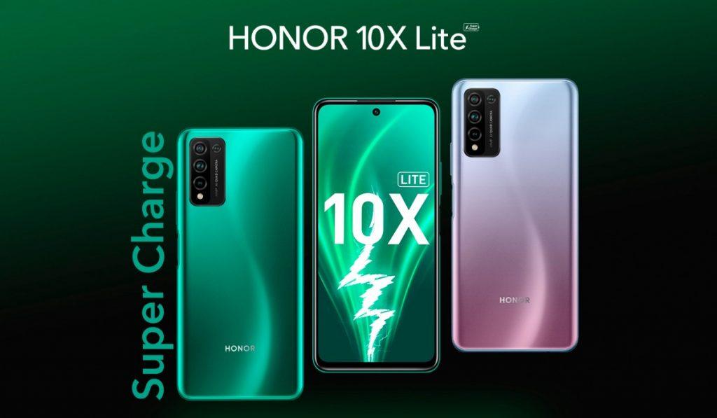 honor 10x lite super charge